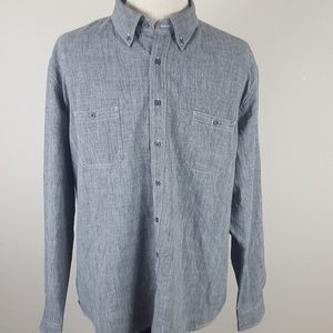 Southern Tide Vented Long Sleeve Button Shirt XXL